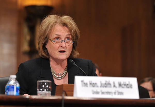 Undersecretary of State for Public Diplomacy Judith McHale