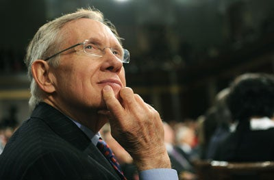 Senator Harry Reid (D-NV)