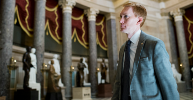 Sen. James Lankford, R-Okla., wants to gradually eliminate the wind tax credit. (Photo: Bill Clark/CQ Roll Call/Newscom)