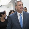 Rep. Kevin McCarthy exited the race to become the next House speaker. (Photo: Kevin Dietsch/UPI/Newscom)