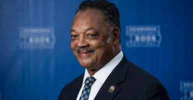 "Jesse Jackson claimed that ""this new Jim Crow isn't subtle."" (Photo: Guillem Lopez/Photoshot/Newscom)"