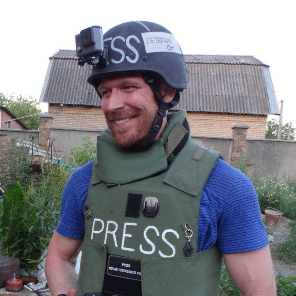 Nolan Peterson has been reporting for the last year on the war in Ukraine.