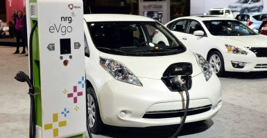 According to Georgia car registrations, sales shot up as electric car buyers rushed to take advantage of the tax credit before it expired. (Photo: Brian Kersey/UPI/Newscom)