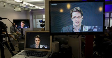 "Edward Snowden decided to take the law in his own hands and bypass the official ""whistleblower"" process. (Photo: Andrew Kelly/Reuters/Newscom)"