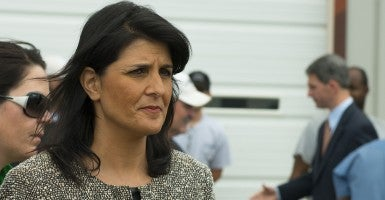 South Carolina Gov. Nikki Haley (Photo:  TVNewsBadge/CC BY 2.0)