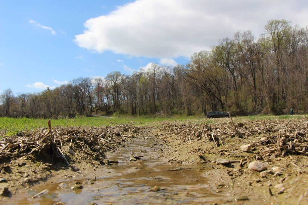 Puddles, ponds, ditches, ephemerals — the EPA wants to regulate it all. (Photo: American Farm Bureau Facebook)