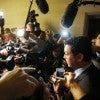 Rep. Jason Chaffetz. R-Utah, faces the media. (Photo: Jim Borg/Reuters/Newscom)