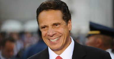 New York Gov. Andrew Cuomo isn't changing his views on fracking. (Photo: Anthony Behar/Sipa USA/Newscom)