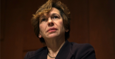 "AFT paid union president Randi Weingarten, one of the nation's most prominent ""progressive"" activists, a total of $497,118. (Photo: Jesse Nemerofsky/ZUMAPRESS/Newscom)"