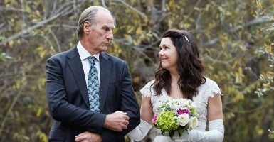 A scene of Zeke and Sarah from Parenthood's finale. (Photo: NBC Parenthood Facebook)