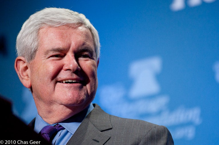 Former Speaker Newt Gingrich at Heritage President's Club