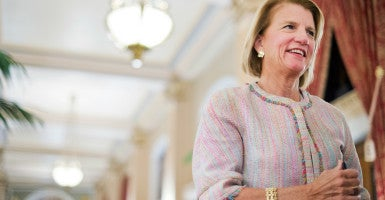 Sen. Shelley Moore Capito is suggesting she isn't up for getting rid of the Medicaid expansion that's part of Obamacare. (Photo: Tom Williams/CQ Roll Call/Newscom)
