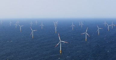 A German wind farm. (Photo: Getty Images)