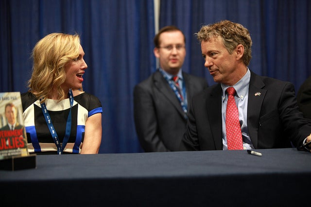 Rand and his wife Kelley have been married for 23 years. (Photo: Gage Skidmore)