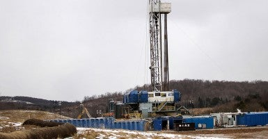A hydraulic fracturing site. (Photo: Spencer Platt/Getty Images)