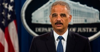 Attorney General Eric Holder (Photo: Jim Lo Scalzo/EPA/Newscom)