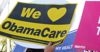 Rally in support of the Affordable Care Act in front of the Supreme Court in March 2012. (Photo: LaDawna Howard)