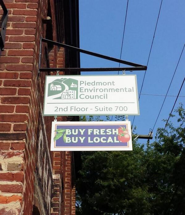 Piedmont Environmental Council Charlottesville office. (Photo: Piedmont Environmental Council Twitter)