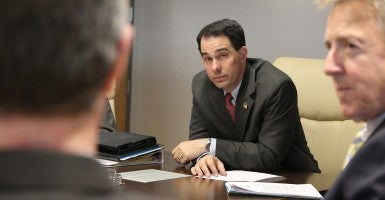 Gov. Scott Walker (Photo: Gateway Technical College/Flickr)