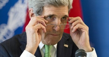 Secretary of State John Kerry (Photo: Evan Vucci/AFP/Getty Images)
