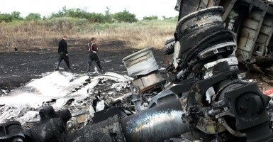 Malaysia Airlines Boeing 777 crash site in Donetsk Region. (Photo: Konstantin Sazonchik/ITAR-TASS/ZUMA Wire)