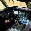 President Obama sits in the cockpit of a 767 during his tour of the Boeing Plant production facility in Everett, Wash., Feb. 17, 2012. (Photo: Pete Souza/White Hosue)