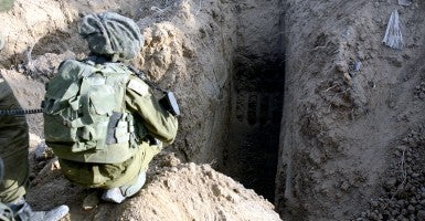 A gigantic maze of subterranean military facilities used by Hamas to launch attacks on and infiltrate Israel through tunnels. (Photo: Polaris/Newscom)