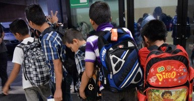 School districts are preparing for an influx of children who recently have crossed the U.S. southern border illegally. (Photo: Johan Ordonez/Getty/Newscom)