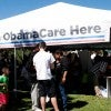 A 2013 Obamacare enrollment event. (Photo: Xiz