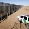 The Santa Teresa Point of Entry on the U.S. and Mexico border n