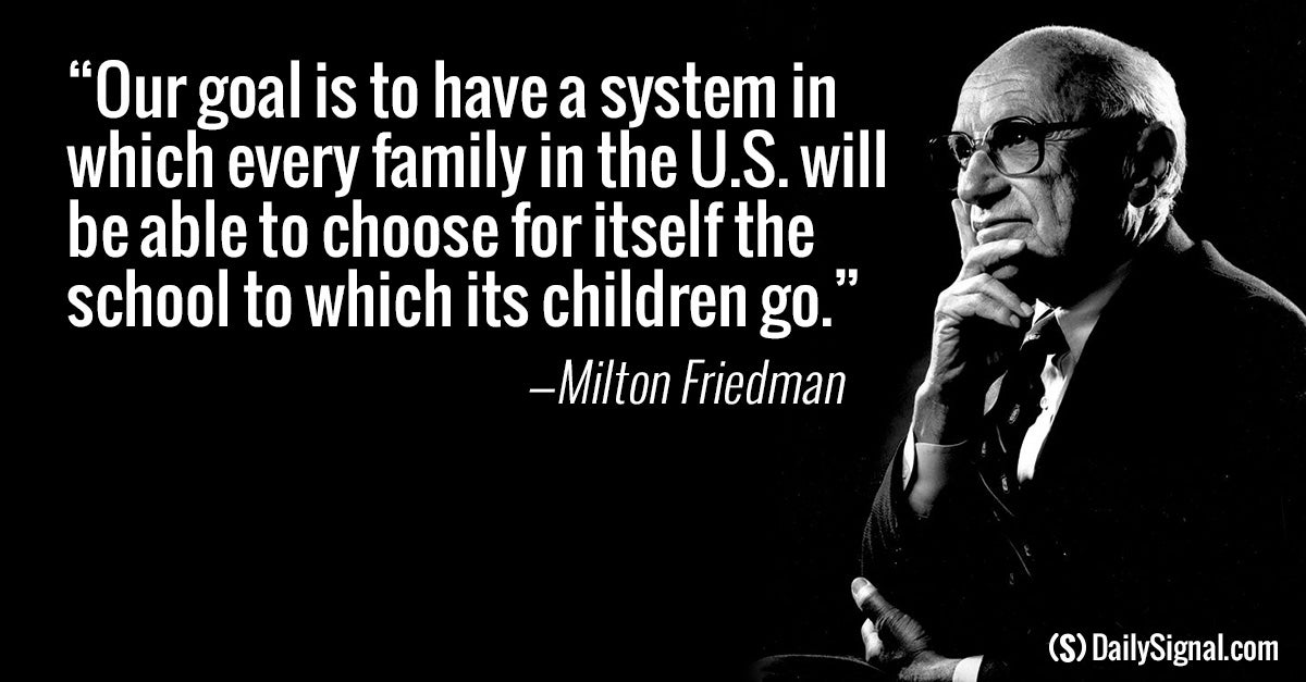 the stand of milton friedman on government expansion