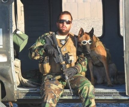 Army Sgt. James Harrington and Ryky (Photo: James Harrington)