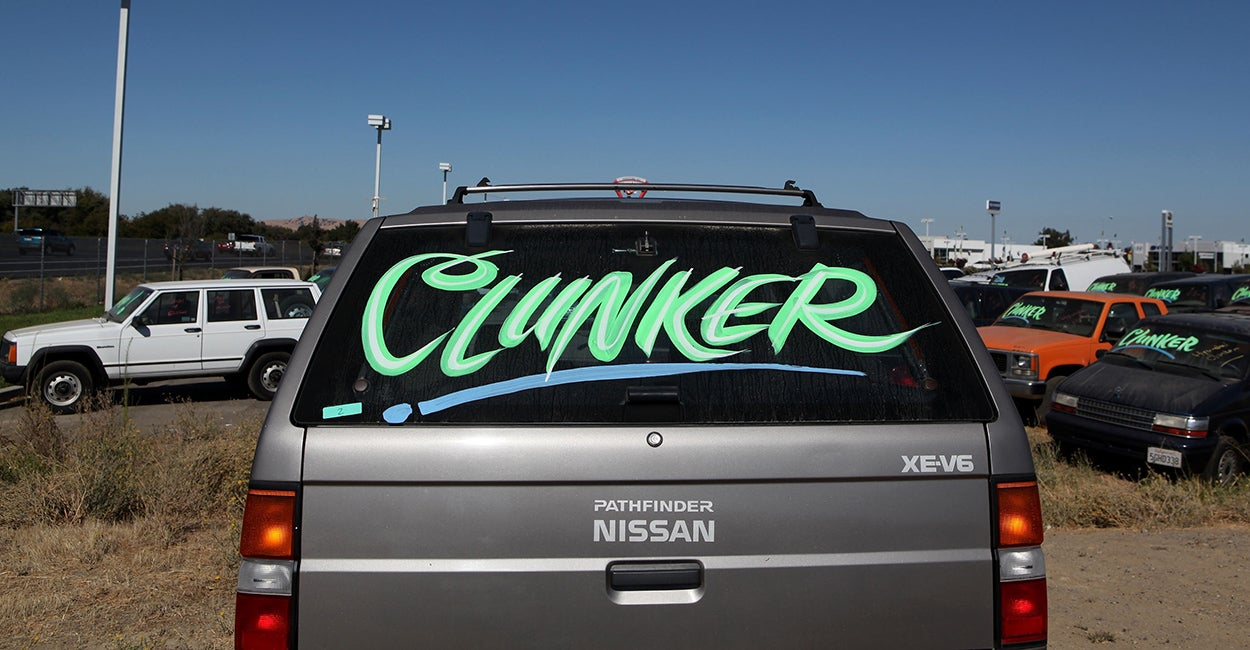 Study Cash For Clunkers Was A 3 Billion Jalopy