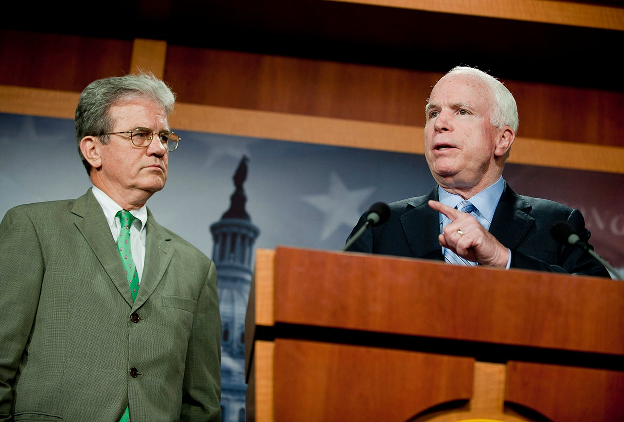 Senators Tom Coburn (R-Oklahoma) and John McCain (R-Arizona) requested the IG review. (Photo: Pete Marovich/ZUMAPRESS.com/Newscom)