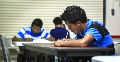 Since the beginning of the year, the federal government has released more than 2,000 undocumented students to sponsors—most relatives—in Virginia. (Photo: Lannis Waters/The Palm Beach Post)