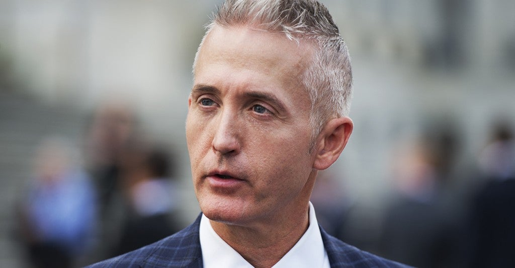 Rep. Trey Gowdy, R-S.C. is head of the House Select Committee on Benghazi. (Photo: Tom Williams/CQ Roll Call)