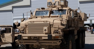 Rankin County is trying to acquire a Navistar Defense MaxxPro mine resistant ambush protected vehicle like this one from federal government surplus. (Photo: DJ Lein/Creative Commons)