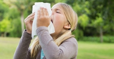 Be warned -- you could be suspended for saying bless you when a classmate sneezes. (Photo: Thinkstock)