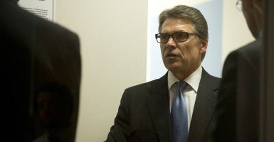 Texas Gov. Rick Perry (Photo: Bob Daemmrich/Polaris)
