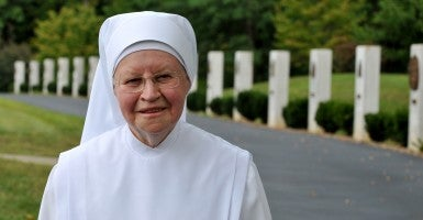 Sister Bernard, a Little Sister of the Poor (Photo: Donald Vish/Creative Commons)