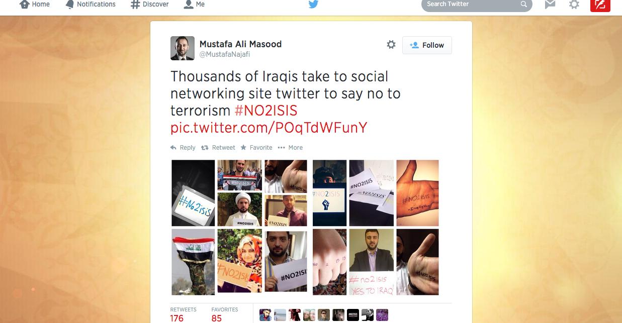 Propaganda contra ISIS
