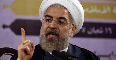 Iranian President Hassan Rouhnai (Photo: UPI/Newscom)