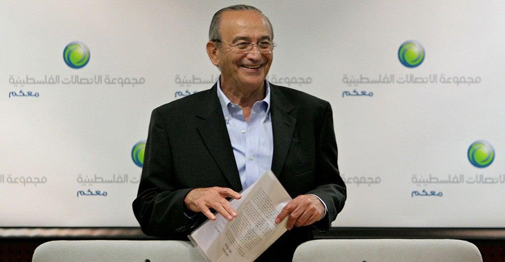 Sabih Al-Masri, chairman of Arab Bank. (Photo: Haytham Othman/Newscom)