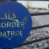 A Border Patrol sign on a