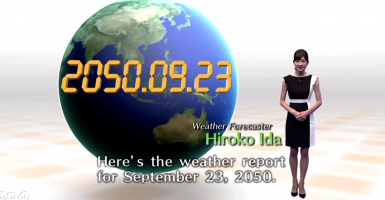 A screen capture from one of the UN's catastrophic 2050 weather reports being released for this month's Climate Summit. (Photo: WMO Video Master/YouTube)