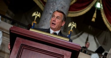 'It's important we give the president what he's asking for': House Speaker John Boehner. (Photo: Creative Commons)