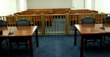 The Arlington Immigration Court is one of the Justice Department's 59 courts. (Photo: Josh Siegel/The Daily Signal)