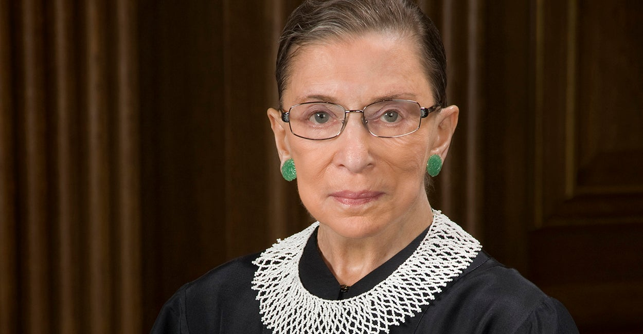 Justice Ruth Bader Ginsburg (Photo: Official Supreme Court Portrait)