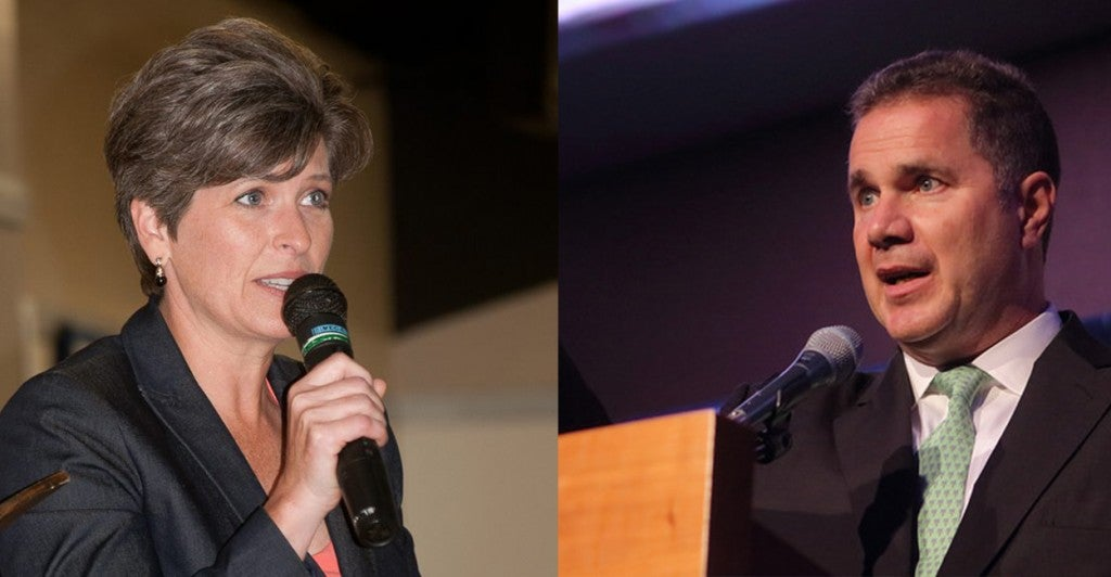 Photos: Joni Ernst Campaign Facebook Page/Gregory Hauenstein via Creative Commons