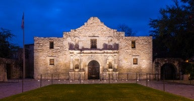 The Alamo (Photo: André Babiak/Newscom)